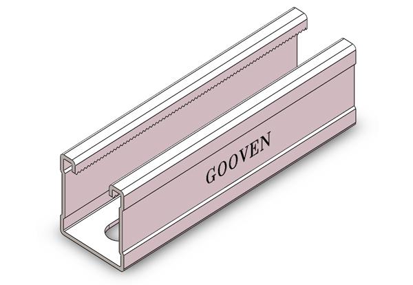 冲孔单面槽钢 GW41号