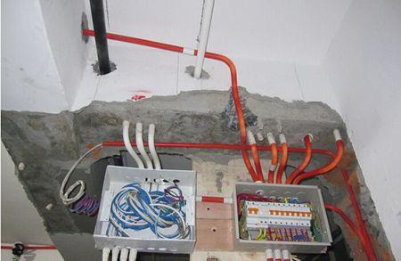 强电线路与弱电线路