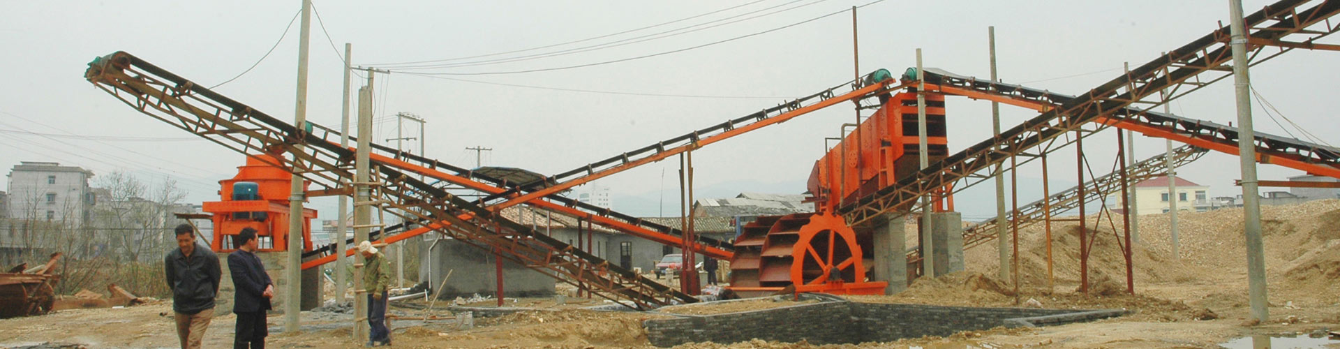 Sichuan 30-35TPH River Pebble Sand Making Production Line