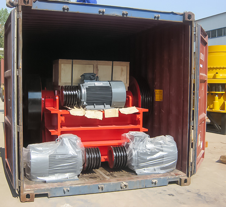 Successful Jaw Crusher Consignment to Indonesia
