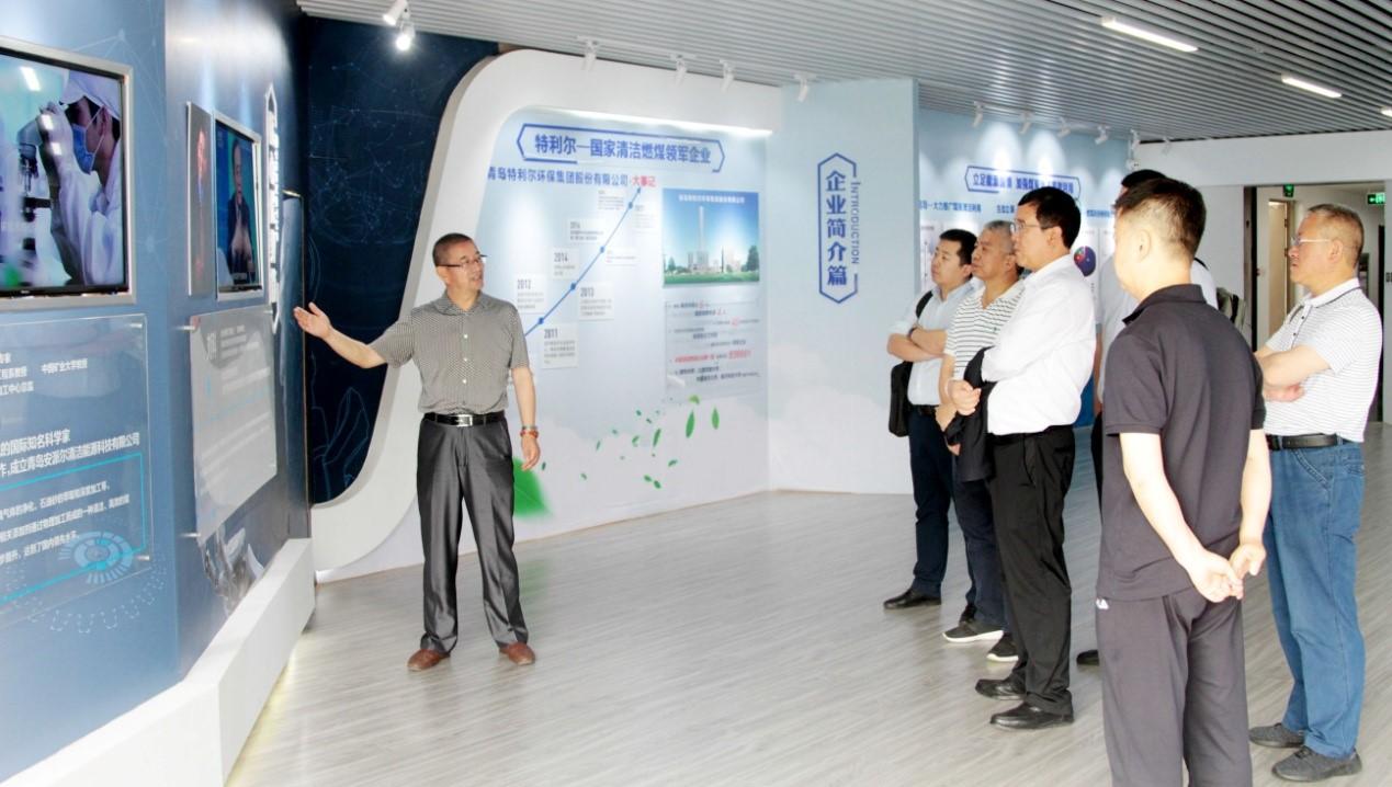 乌鲁木齐市高新区考察团到访福彩3d开机号环保集团