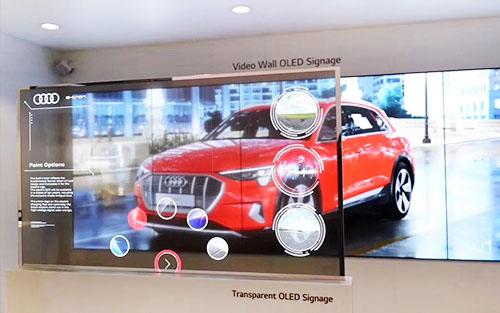 汽车4S店广告宣传大屏幕用什么样的?