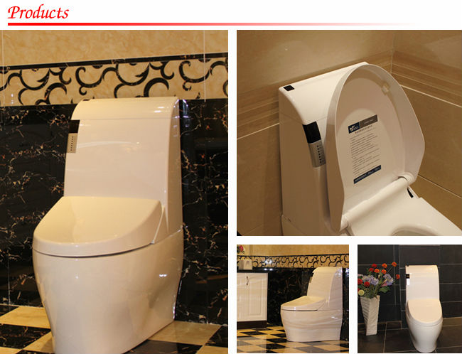 GIZO JJ-0801z heated seat ceramic automatic toilet