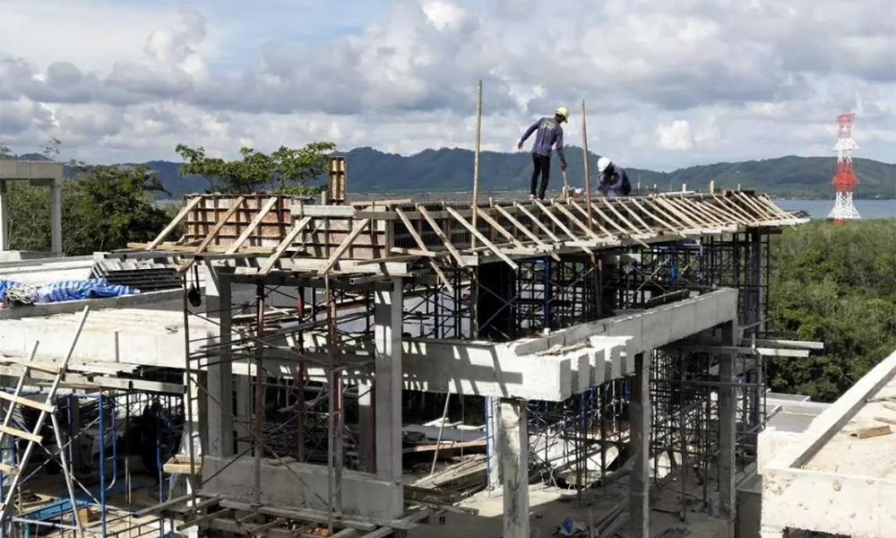 「登岛实时」UBM大良造建设实时报道,全区域别墅内装+外装部分同步推进!