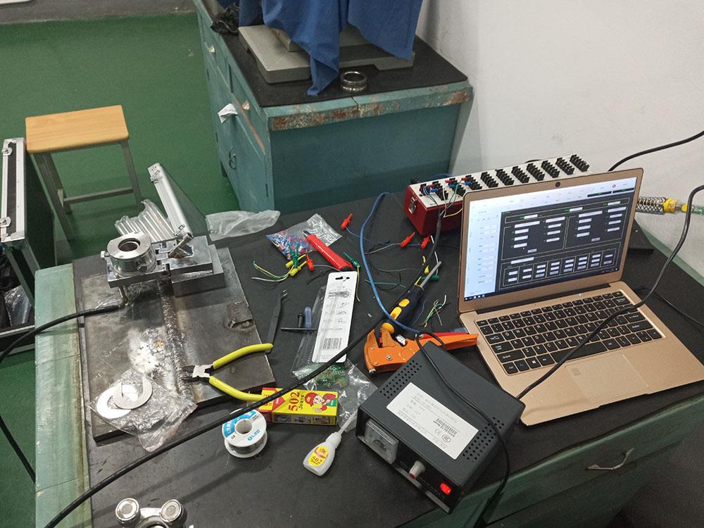 焊接件残余优发国际顶级在线测试--安徽机电职业技术学院