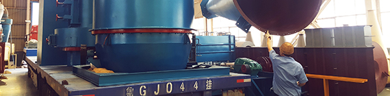 Congratulation on Successful Consignment of YGM65 High Pressure Suspension Mill to North Korea