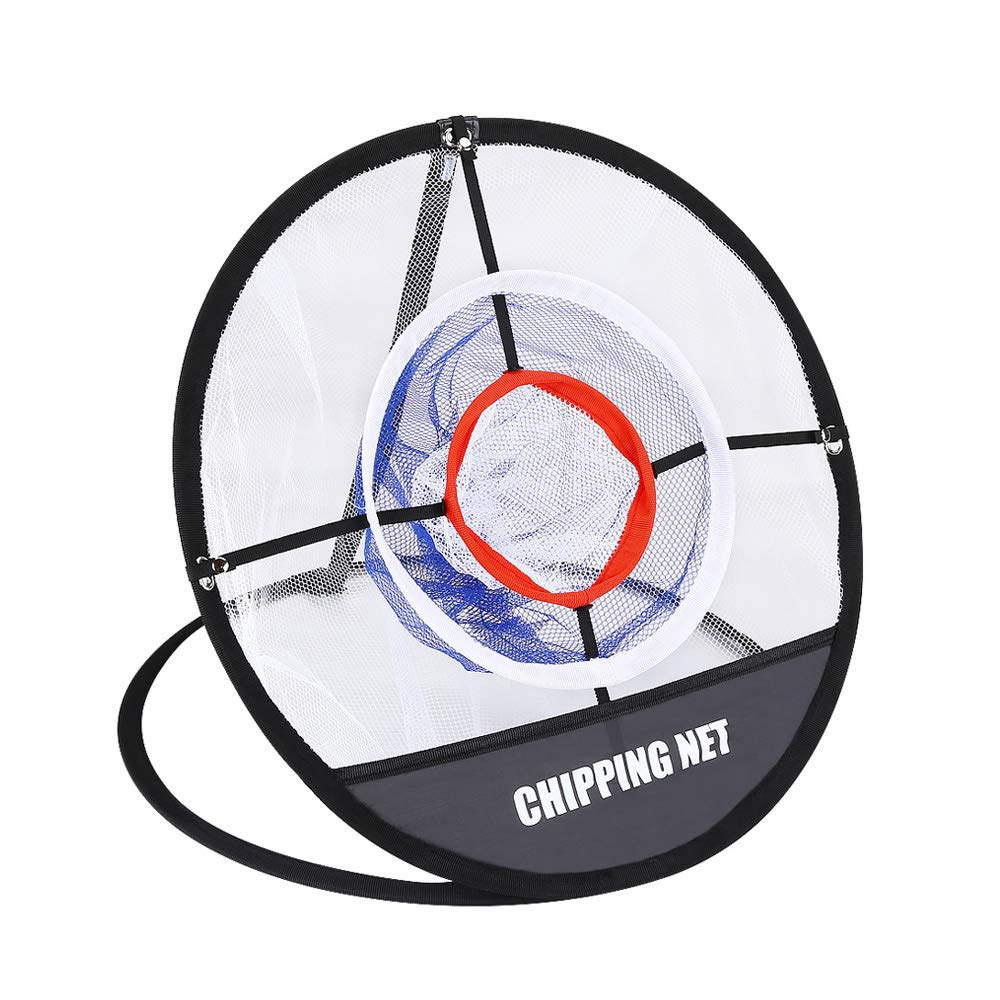 BOBLOV Golf Putting Net, Golf Chipping Hitting Net, Indoor Outdoor Golf Practice Backyard Golfing Target Swing Practice