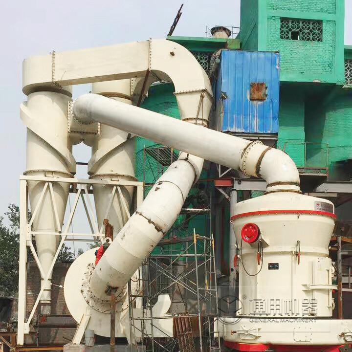 陕西韩城时产20吨石灰石磨粉生产线