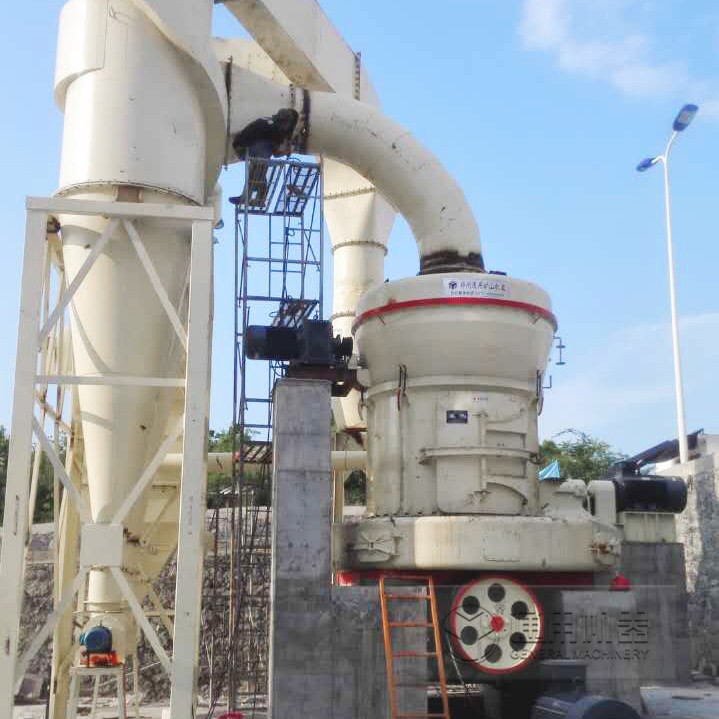 贵州安顺时产15吨氧化钙磨粉生产线1