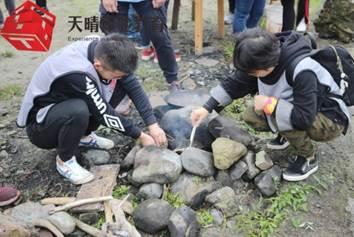 户外训练项目:丛林生存