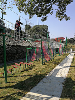 杭州城西中学青少年素质拓展基地完工