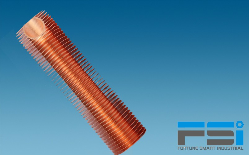 Copper Finned Tubes1