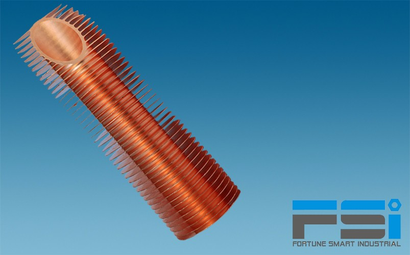 Copper Finned Tubes6