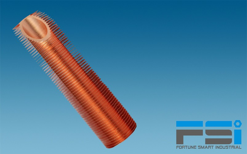Copper Finned Tubes2