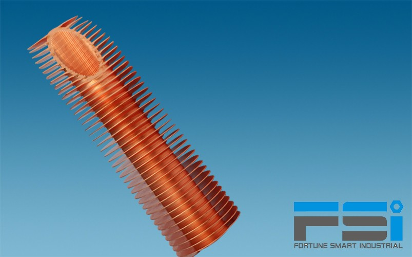 Copper Finned Tubes8