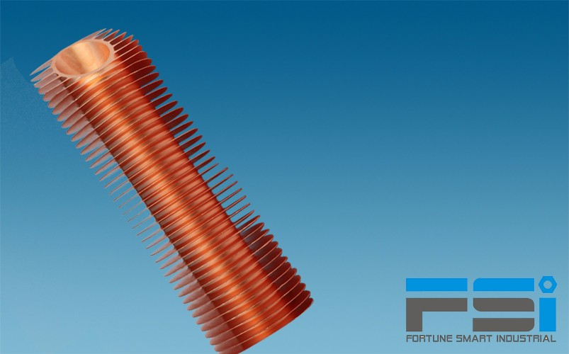 Copper Finned Tubes3