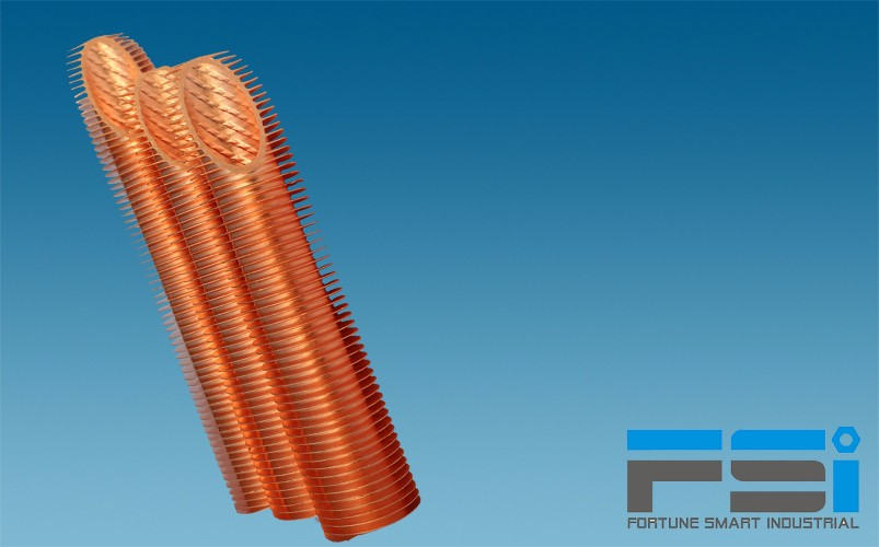 Copper Finned Tubes16