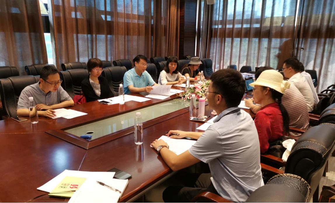 我协会理事长周永章走访调研会员单位 广东蛟龙科技有限公司