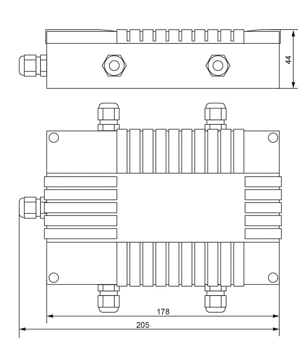 JB-054A铝制接线盒 (型号:JB-054A)