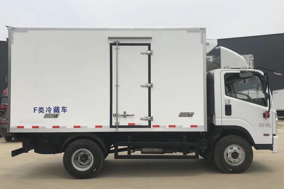 现代南骏蓝牌冷藏车CNJ5042XLC