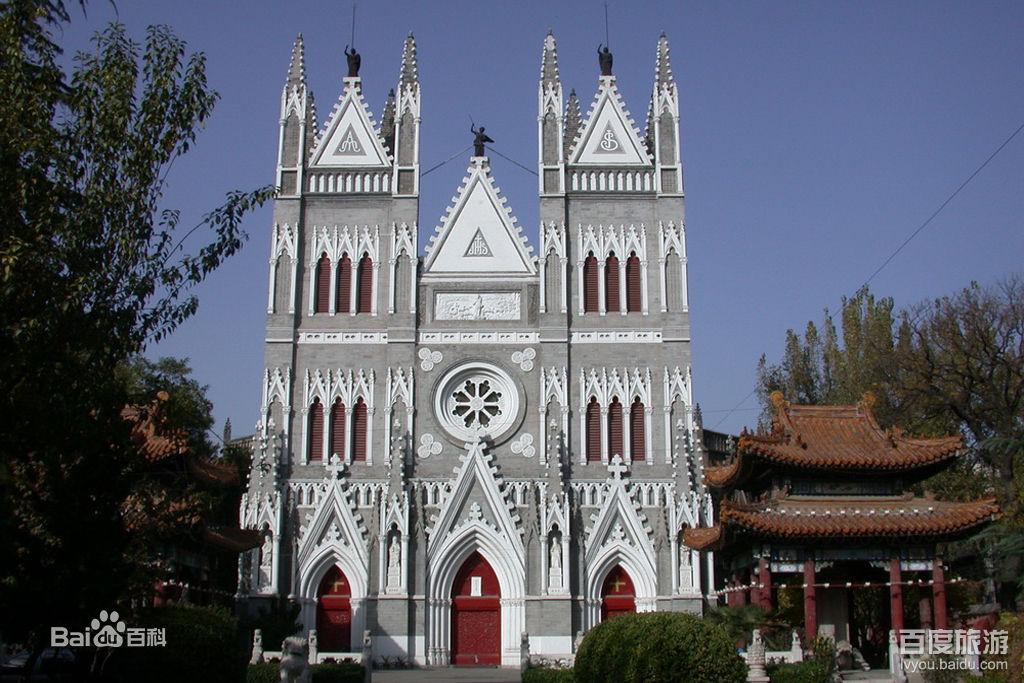 北京西城区西什库教堂的专业扩声系统