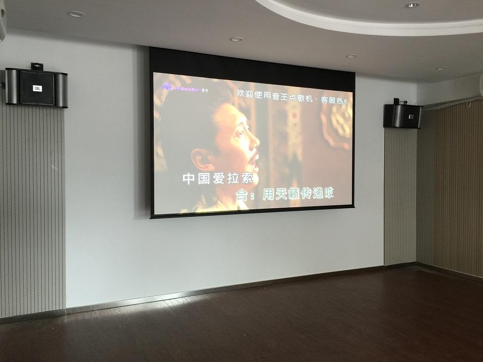 东窑村小区客户家庭KTV