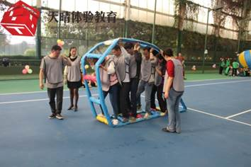執行力拓展培訓項目:車輪滾滾