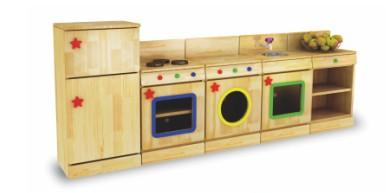 BNX-2603 原木厨房组合五件套