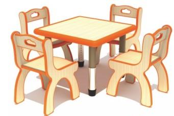 七彩-儿童提手椅子