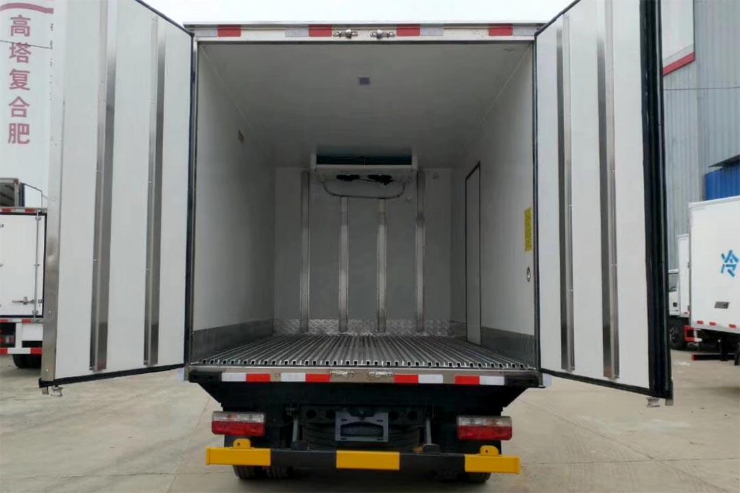 东风凯普特蓝牌冷藏车EQ5041XLC