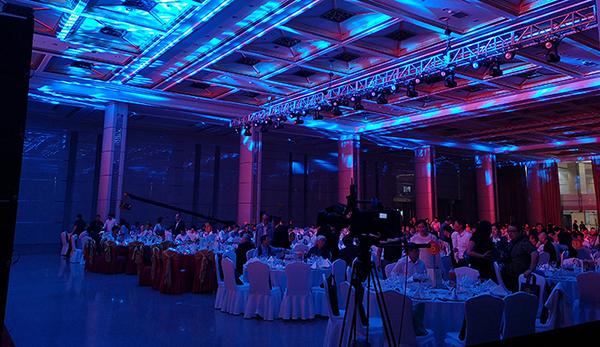微桥助力第十一届玉龙奖颁奖典礼现场网络搭建