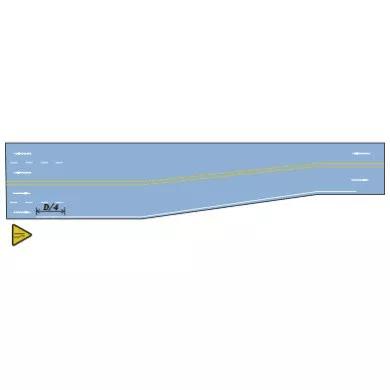 交通警告标线