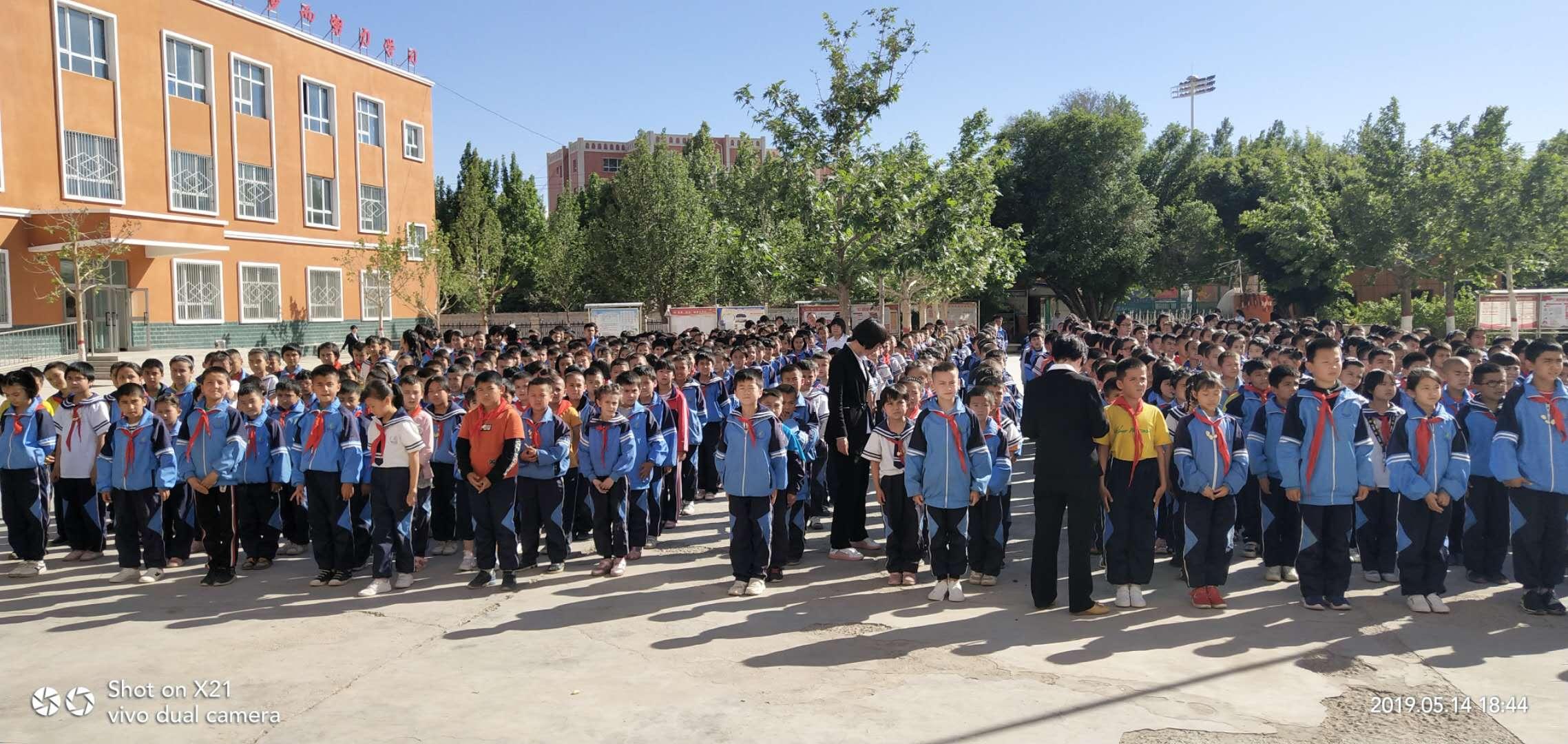 喀什疏附县第二小学开展消防安全培训