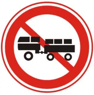 交通禁令标志