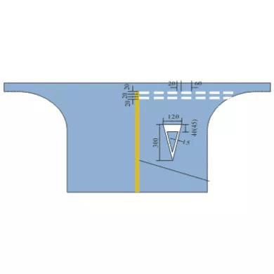 交通禁令标线