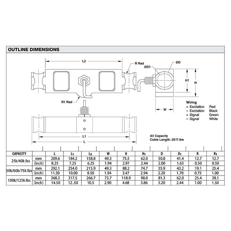 DLB双剪切梁传感器(型号:DLB)