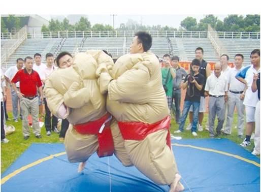 活动游戏类拓展项目:相扑运动
