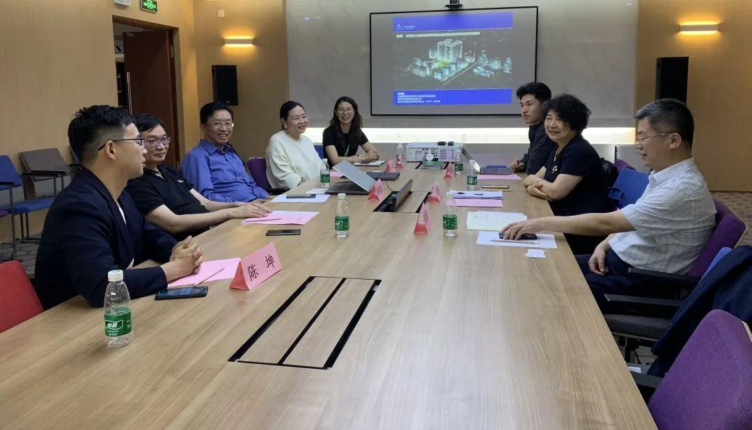 浙大控股集团董事长郑爱平一行到访启迪,交流改革发展经验