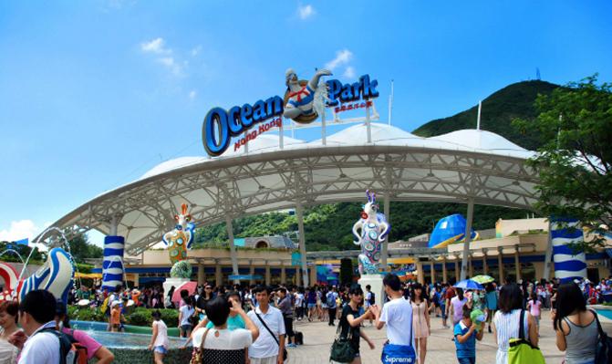 400118 Ocean Park,Hongkong