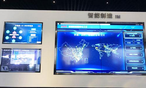 企业展厅定制化触摸拼接大屏幕解决方案