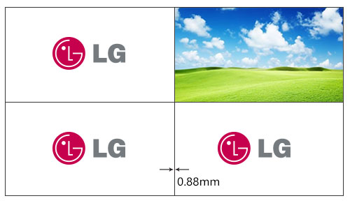 Lcd液晶拼接屏幕有没有0mm无拼缝的?