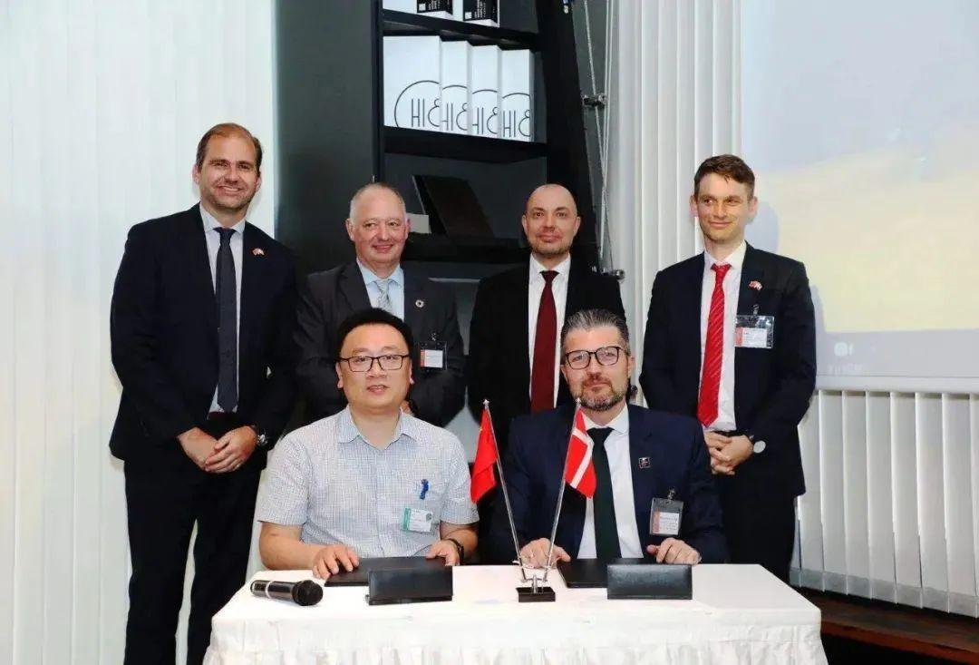 江苏启迪携手丹麦合作伙伴开展绿色科技合作