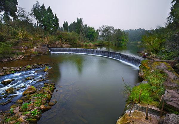雁江区花溪谷生态旅游景区项目