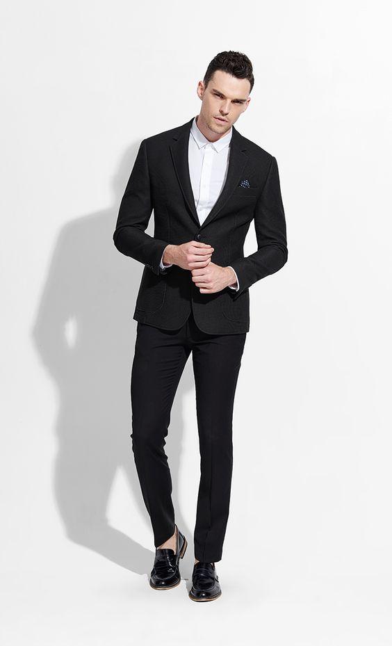 男士5种常见体型怎么选西服