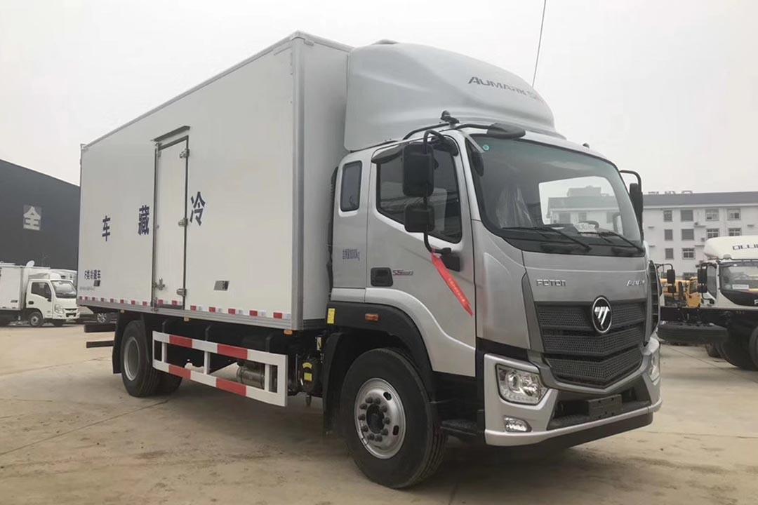福田欧马可国六冷藏车BJ5186XLC