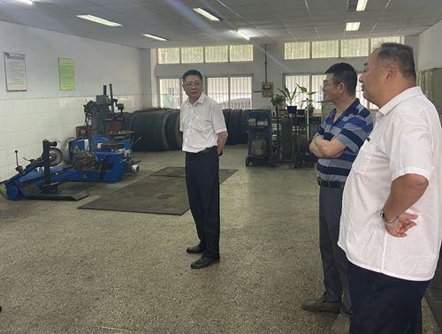 集团安全检查组到苏创公司检查指导安全生产工作