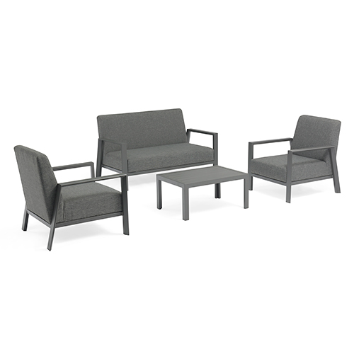 Aluminum fabric sofa set / Алюминиевая ткань диван набор