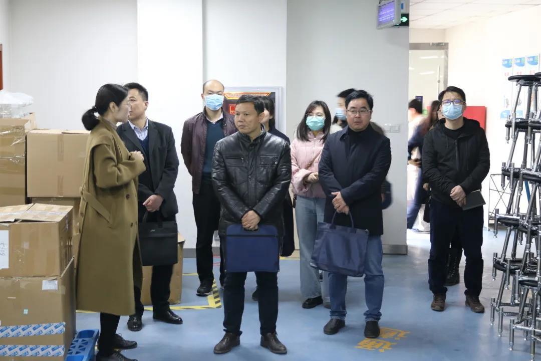 【聚焦天隆】西安市委联合调研组莅临天隆科技调研指导