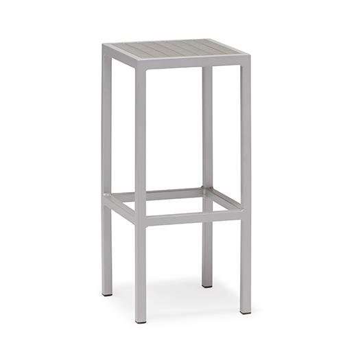 Aluminum plastic wood bar stool / Алюминиевый пластиковый деревянный барный стул