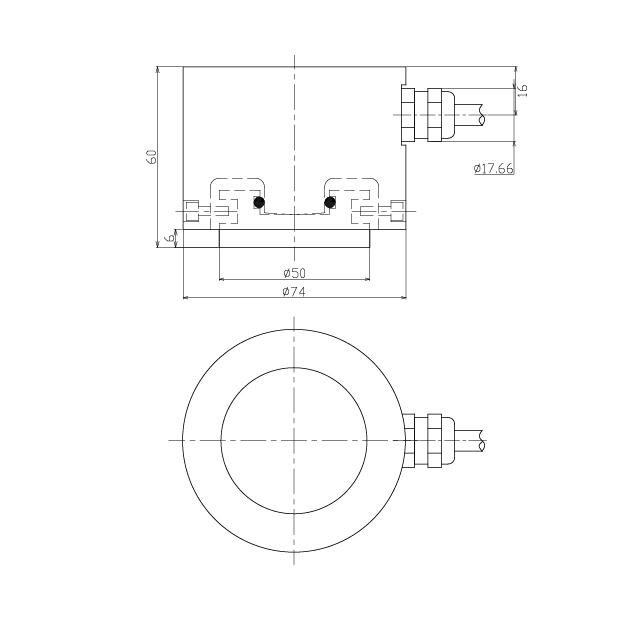 LCD801圆板式称重传感器 (型号:LCD801)